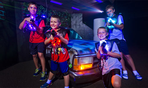 The red zone lasertag columbus indiana