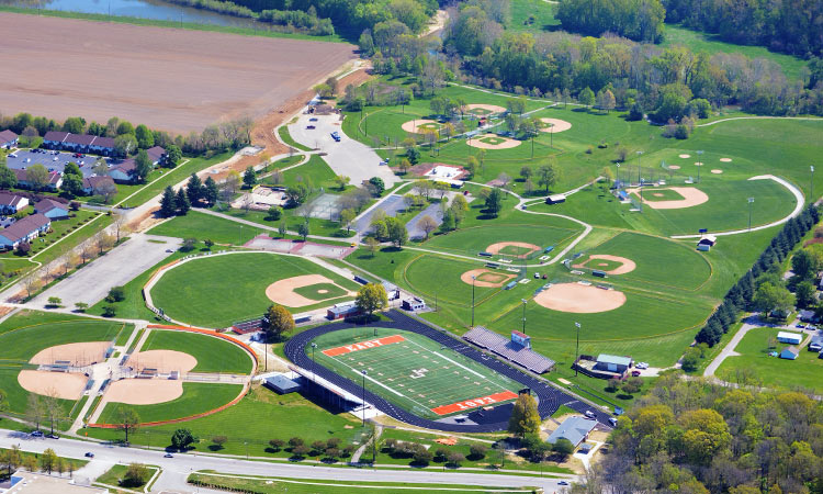 Clifty park aerial