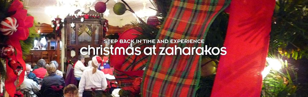 Christmas at zaharakos
