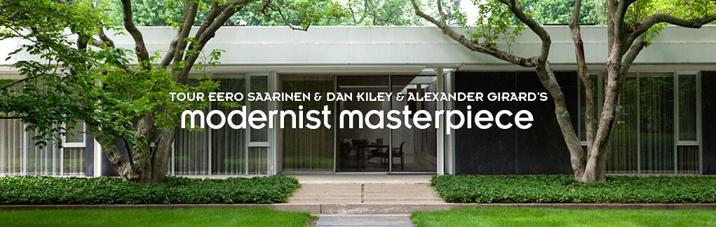 Modernist masterpiece miller house