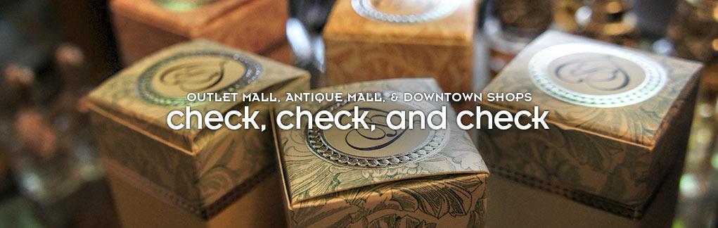 Shopping check check check
