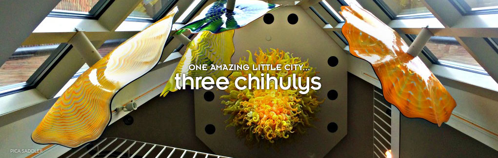 Three chihulys
